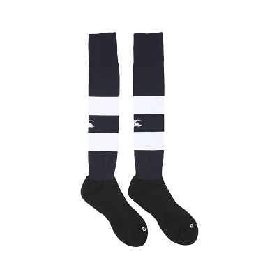 Canterbury Team Hooped Playing Socks Navy/White