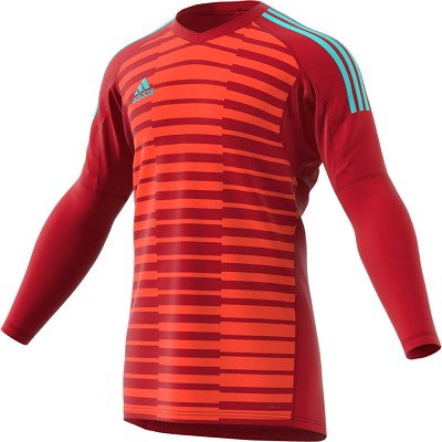 Adidas ADIPRO 18 GK Jersey - Power Red/Semi Solar Red/Energy Aqua F17