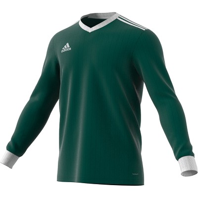 Adidas Tabela 18 LS Jersey - Collegiate Green/White