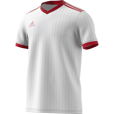 Adidas Tabela 18 SS Jersey - White/Power Red