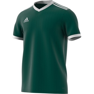 Adidas Tabela 18 SS Jersey - Collegiate Green/White