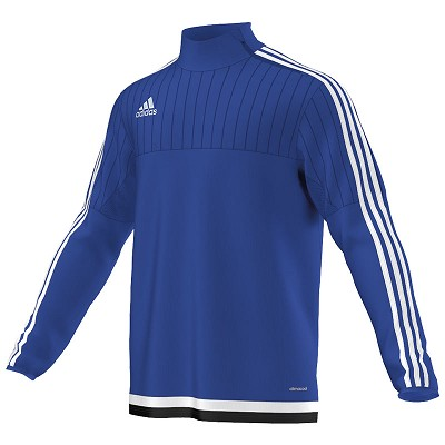Adidas Tiro 15 Training Top - Bold Blue/White/Black