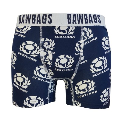 Bawbags - Scotland Rugby Badge Boxer Shorts