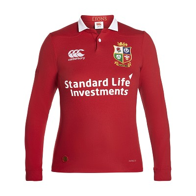 British & Irish Lions 2017 Classic Rugby Shirt LS Jersey Ladies