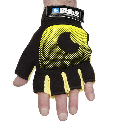 BYTE KNUCKLE GLOVES YELLOW