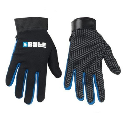 BYTE SNUG FIT GLOVE BLACK/BLUE