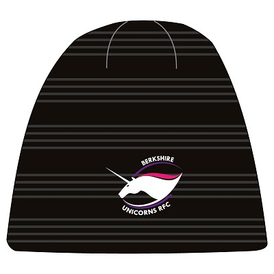 Berkshire Unicorns RFC Team Beanie Black