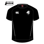 Biggar RFC Team Dry T-Shirt Black/White Junior