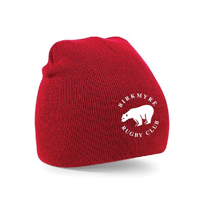 Birkmyre Pull-On Beanie Red