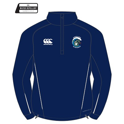 Brighton & Hove  Sea Serpents Adult Team 1/4 Zip Midlayer Navy