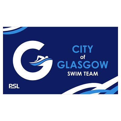 City of Glasgow Swim Team Towel
