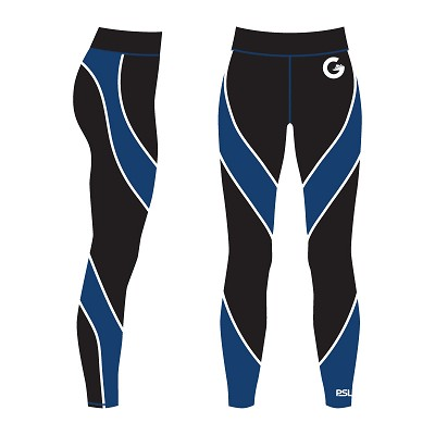City of Glasgow Swim Team - PSL Sublimated Leggings