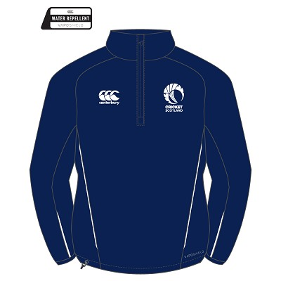 Cricket Scotland 2017 Team 1/4 Zip Micro Fleece