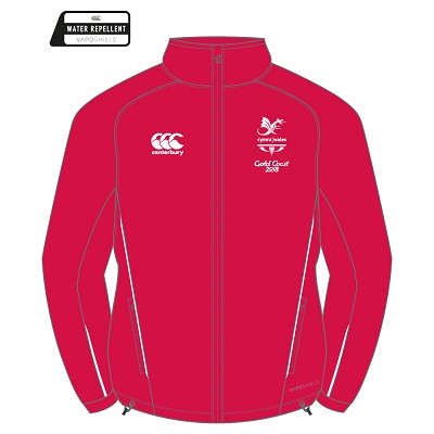 CGW Team Full Zip Rain Jacket Red JNR