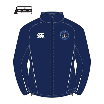 Drumpellier CC Team Full Zip Rain Jacket Junior Navy