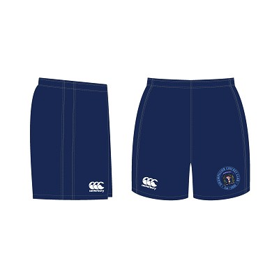 Drumpellier CC Team Shorts Junior Navy