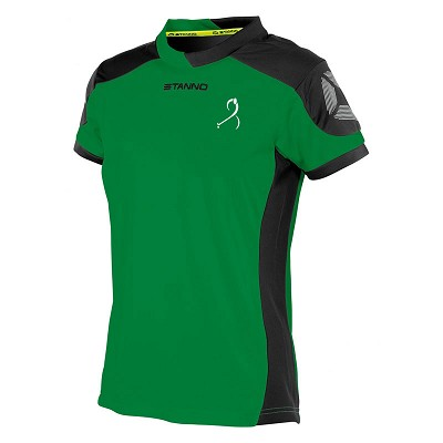 East Kilbride Hockey Junior Playing Shirt Grn/Blk