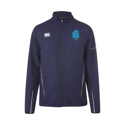 Edinburgh Accies Cricket Club - Team Track Jacket Navy