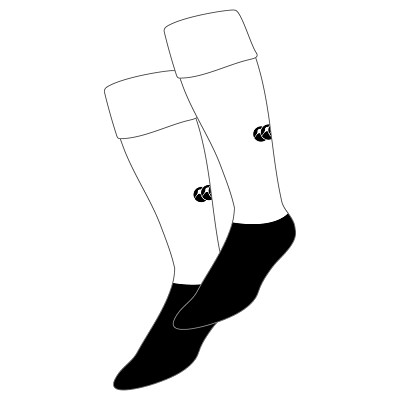 ESM Hockey Club Team Sock White