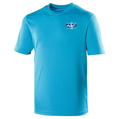 North Ayrshire ASC - Embroidered Cool T-Shirt (Sapphire)
