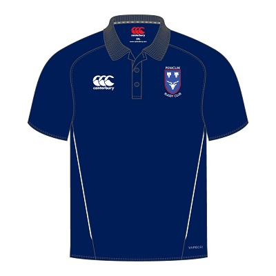 Penicuik RFC Team Dry Polo Navy
