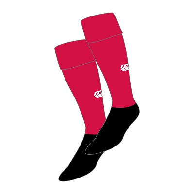 Penicuik RFC Team Sock Red