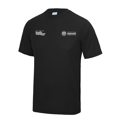 SFRS Family Support Trust Cool T-Shirt Junior Black