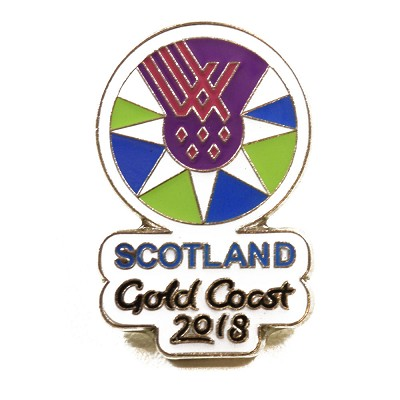 Team Scotland CWG Pin Badge