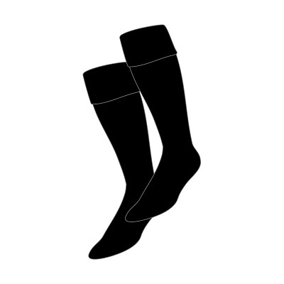 Currie HS Plain Rugby Sock