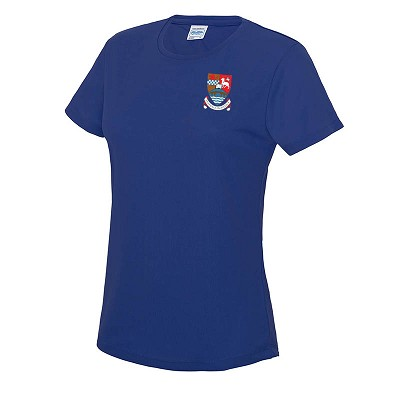 Kyle Academy Ladies Cool T - Royal