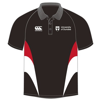 UOD Sports Bespoke Polo Shirt Male fit Black