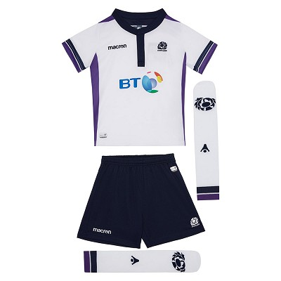 2018 Scotland Rugby Away Kid Boxset