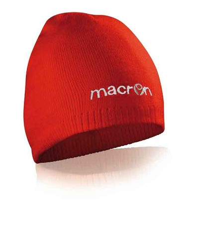Macron Barber Hat - Red (Pack of 5)