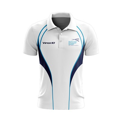 Scottish Student Sport Women's Polo Shirt - White