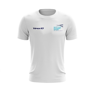 Scottish Student Sport Women's Tee - White